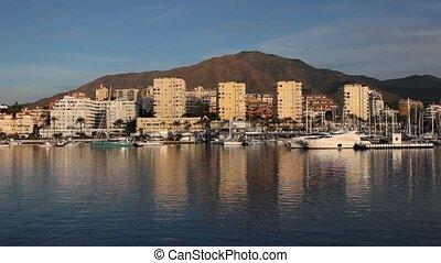 Marina of Estepona, Spain - Marina of Estepona, Costa del...