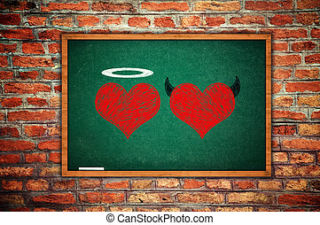 Angel and devil in love