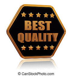 best quality five star hexagon button - best quality - 3d...