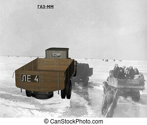 GAZ-MM one and a half ton truck