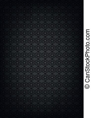 Black abstract texture