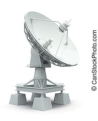 Satellite dish Communiation - Communiation Satellite dish on...