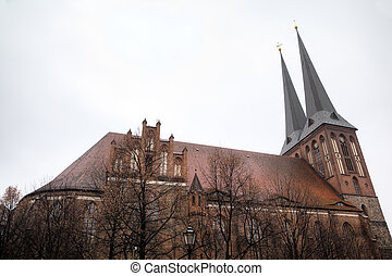 Church of St. Nicholas (Nikolaikirche). Berlin, Germany