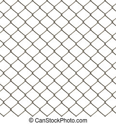 Chain Link Fence - A 3D chain link fence texture that tiles...