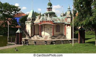 Hans Christian Andersen memorial - The fairytalelike Hans...