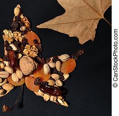 otoños, frutas