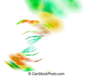 Funky Abstract Background - Abstract fractal artwork that...