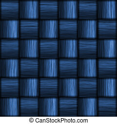 Blue Carbon Fiber - A super-detailed carbon fiber...