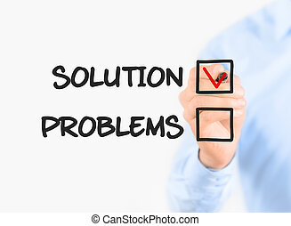 Focus on solution