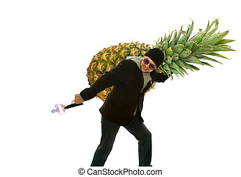 decorate a pineapple for a million dollars - pineapple thief...