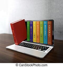 électronique, bibliothèque