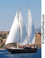 Gulet sailing Bodrum Turkey