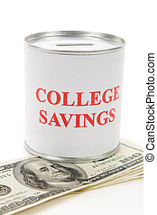 College Savings, concept of saving for college