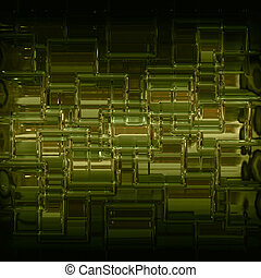 Abstract illustrated wonderful glass background pattern