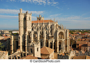 Cathedral St Just and Pasteur of Narbonne, Languedoc...