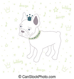 bulldog - cute English bulldog fashion