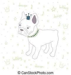 bulldog - cute English bulldog fashion