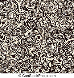 Beautiful paisley pattern - Beautiful vintage floral paisley...