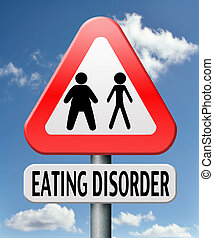 eating disorder anorexia obesity obese or too skinny