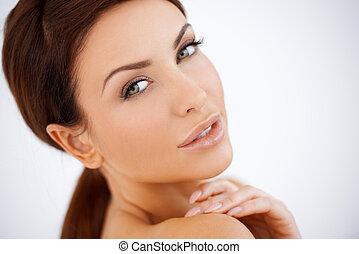 Beautiful sensual woman - Beautiful natural sensual woman...