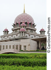Putra Mosque is the principal mosque of Putrajaya, Malaysia...
