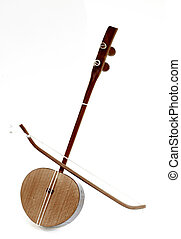 chinese musical instrument - junghu, a chinese traditional...