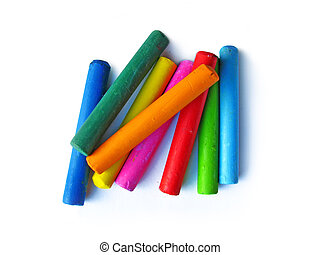 Oil crayons