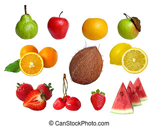 Assorted fruits