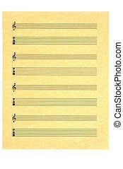 Guitar Tab Music Sheet