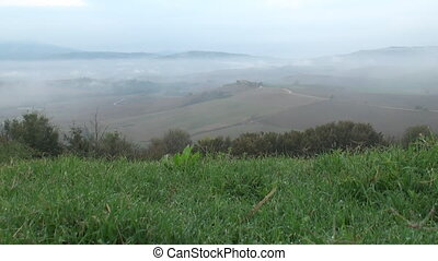 Dew over Tuscany