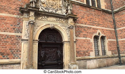 Entrance to Frederiksborg Castle, D - One of the entrance...