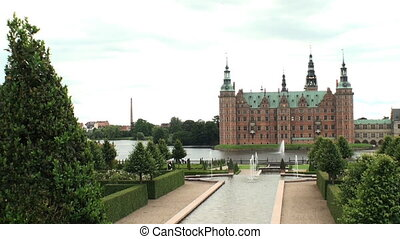 Frederiksborg Castle, Denmark - View on the enormous...