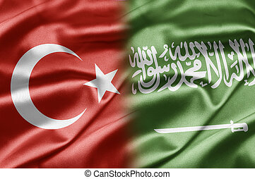 Turkey and Saudi Arabia