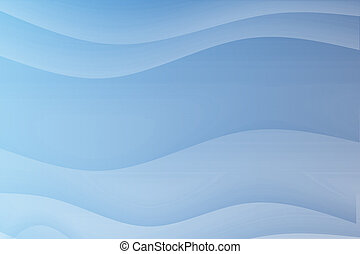 Blue Flowing Soothing Waves Abstract Background Wallpaper