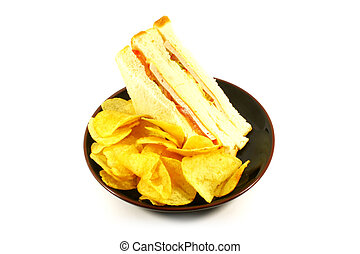 Sandwich and Chips Meal Combo
