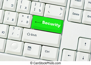 button of security