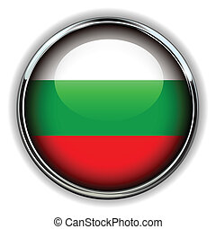 Bulgaria button - Bulgaria flag button