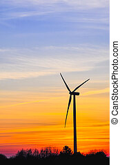 Wind farm - An image of wind farm