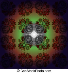 art abstract seamless rainbow pattern background