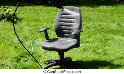 office chair wash stream - office chair seat cleaning under...