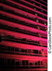 建物, 夜