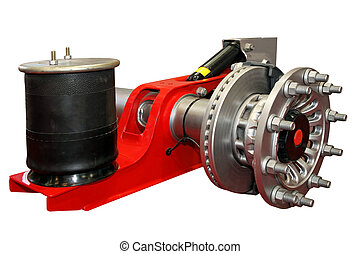 Truck brakes - Truck brake system with shock absorber...
