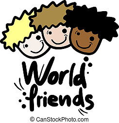 World friend - Creative design of world friend