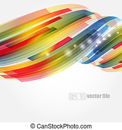 Abstract bright colorful background Vector