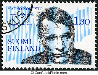 FINLAND - CIRCA 1983: A stamp printed in Finland shows...