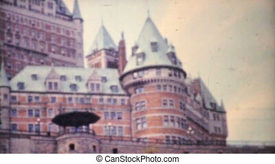 Frontenac Hotel Quebec City 1958 - A shot of the infamous...