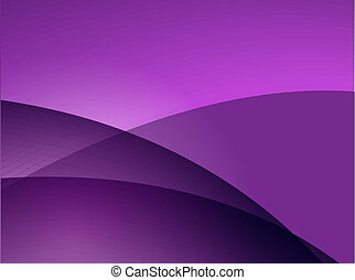 Wavy glowing colors - Abstract wallpaper illustration of...