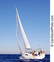 Beneteau Oceanis 40 Sailing - Beneteau Oceanis 40 type...