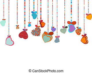 Valentines Day Background EPS 8 vector file included