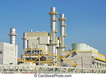 Power Plant - Power plant located in Majorca Spain